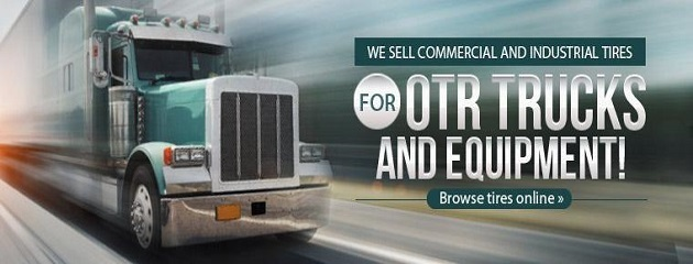 We Sell Commercial and Industrial Tires